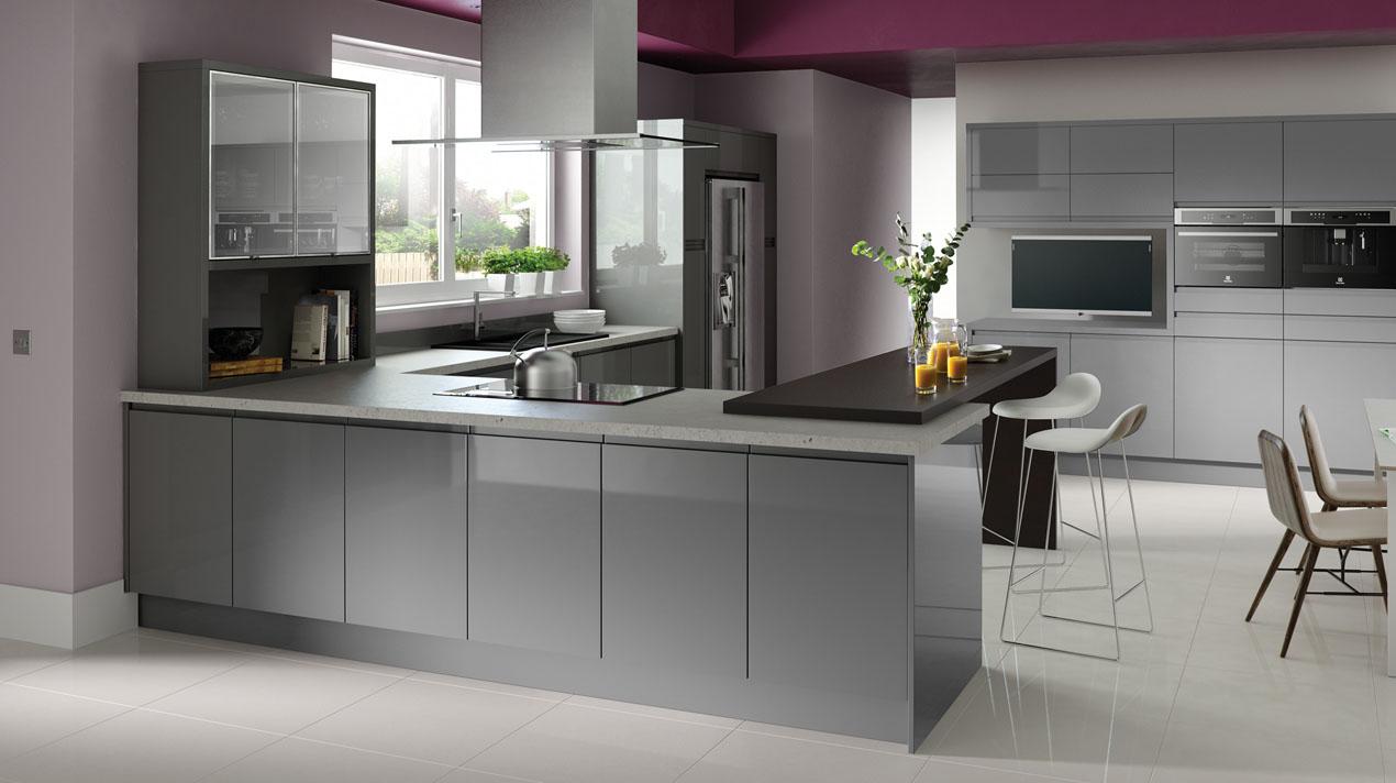 Фото кухни из мдф, дизайн 8