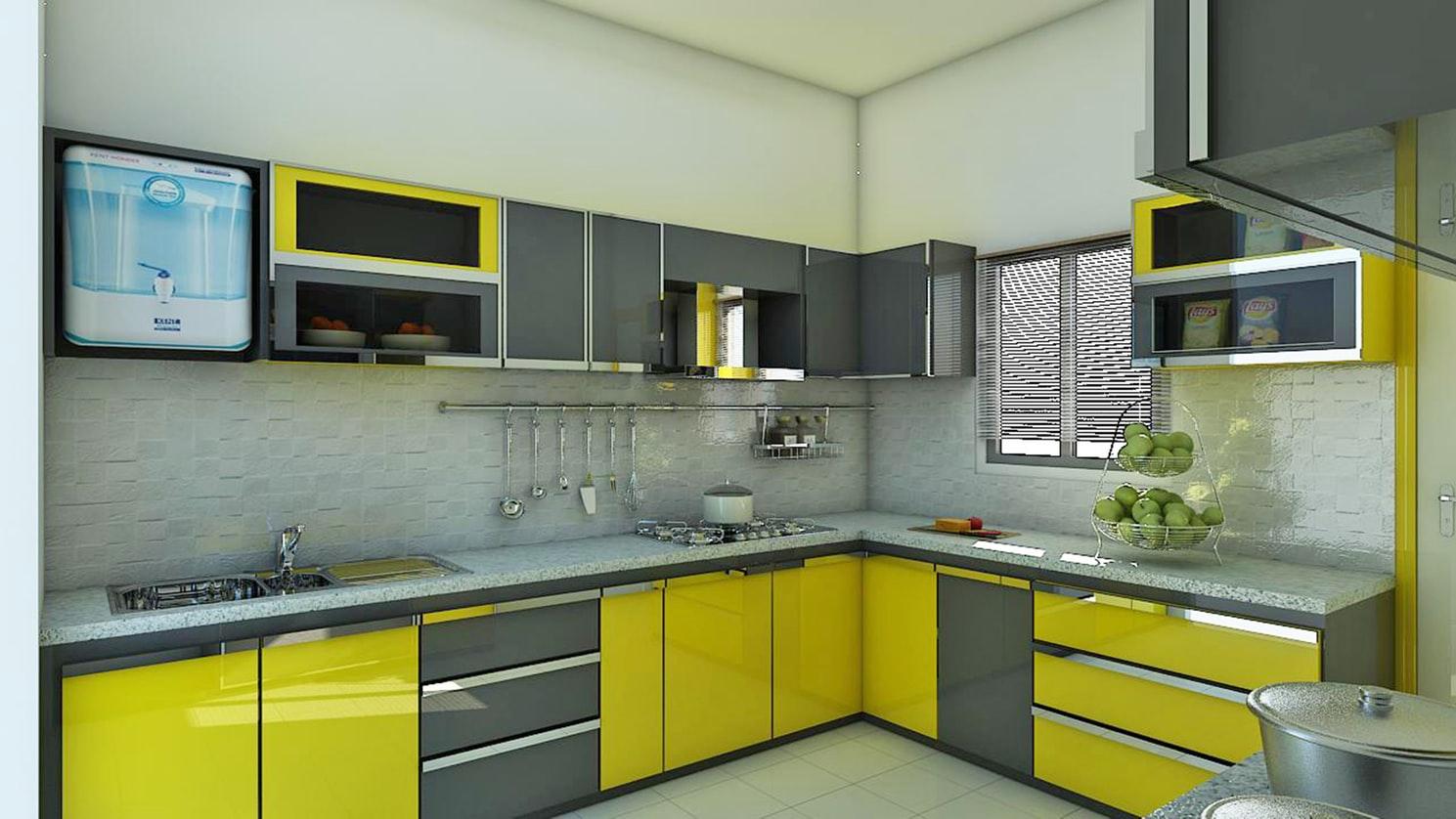 Фото кухни из мдф, дизайн 9